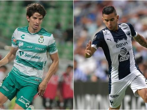 Santos Laguna and Monterrey begin battle for the Liga MX 2021 semifinals today