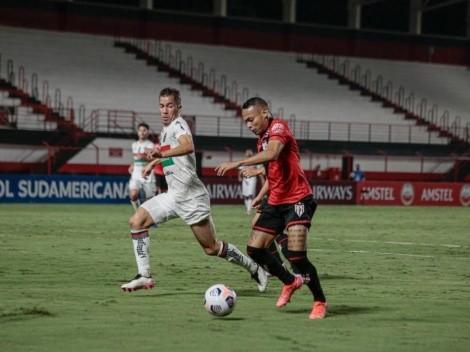 Palestino empata con Goiainiense y se despide de la Copa Sudamericana