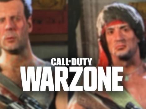Se filtran las primeras imágenes de Rambo y Bruce Willis en Call of Duty: Warzone