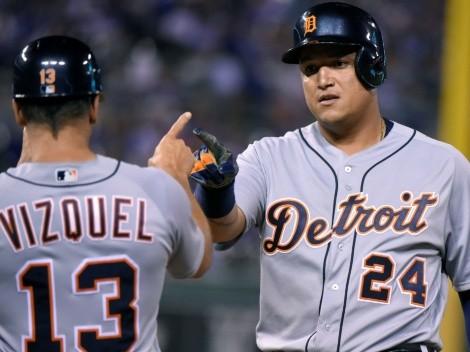 Paso de testimonio: Miguel Cabrera supera a Omar Vizquel en la historia de MLB