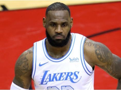 La súper figura eliminada de la NBA 2021 que puede arruinarle la clasificación a LeBron James