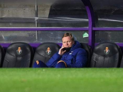 Barcelona eyeing possible replacement for Ronald Koeman
