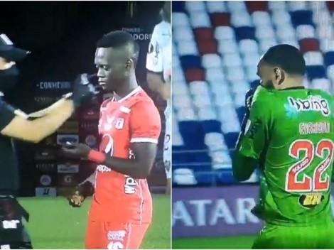 Se repite la historia: jugadores de América y Mineiro afectados por gas lacrimógeno