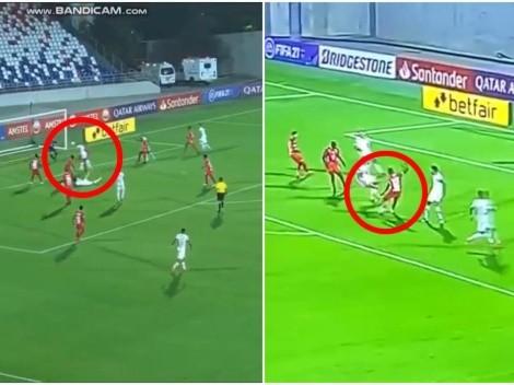 Se calentó: en menos de 3 minutos América y Mineiro marcaron y se apretó el partido