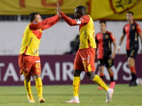 Una lástima: Aucas volteó partido ante FBC Melgar (2-1)