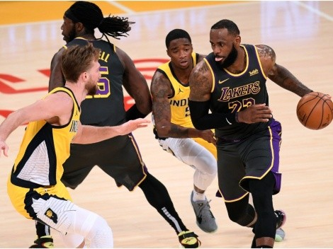 Lakers want to avoid the play-in by beating the Pacers on the road