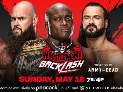 WWE Wrestlemania Backlash EN VIVO: Día, fecha, hora, canales y cartelera para ver EN DIRECTO HD