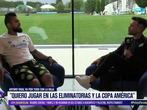 La decisión de Arturo Vidal de cara a las eliminatorias y la Copa América