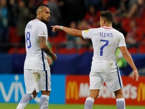"""Vidal sobre la competencia con Sánchez: """"Desde Colo Colo que competíamos por ser los mejores"""""""