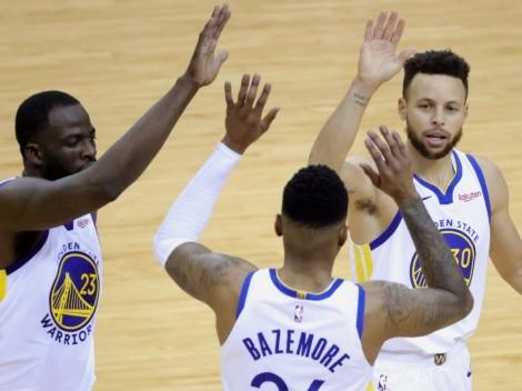 Los tres rivales que le pueden tocar a los Warriors de Curry en el Play-In