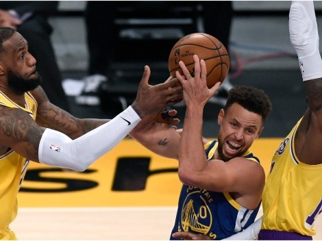 ESPN Analyst says the Lakers should be concerned to face Stephen Curry in the play-in tournament