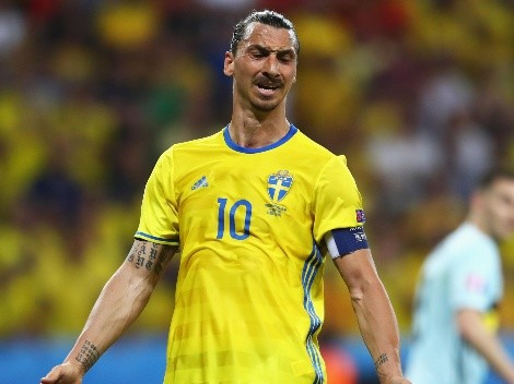 Pésima noticia: Ibrahimovic se bajó de la Eurocopa