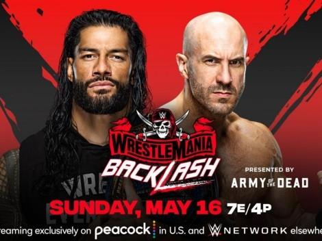 WWE Backlash Dónde y cómo ver EN VIVO el evento por Fox Sports y Star Action HD