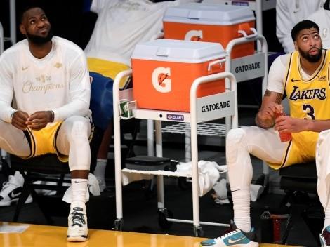 Los Angeles Lakers vuelve a contar con sus máximas figuras para partido clave