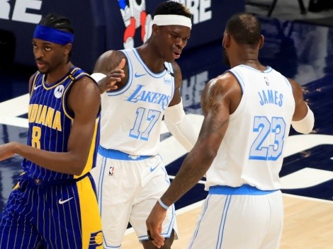 Los Angeles Lakers siguen con vida rumbo a NBA Playoffs gracias a LeBron James