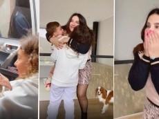 Hermosa: hija de James sorprendió a su abuela con viaje sorpresa para su cumpleaños