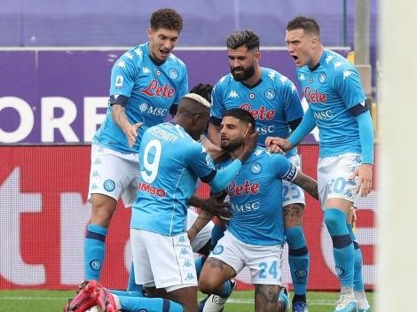 Chucky Lozano tuvo 15 minutos de juego en el triunfo con aroma a Champions League de Napoli