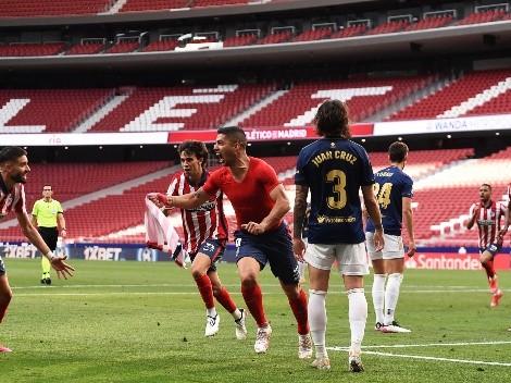 Corazón, sudor y lágrimas: Luis Suárez convirtió al 90 ¿el gol del título del Atlético Madrid?