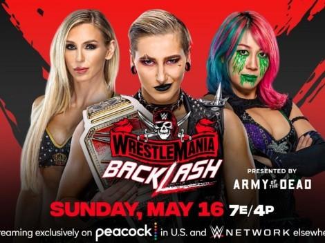 Qué canal transmite EN VIVO WWE Wrestlemania Backlash 2021
