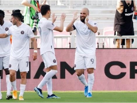 Doblete de Gonzalo Higuaín le da a Inter Miami los tres puntos ante Cincinnati FC