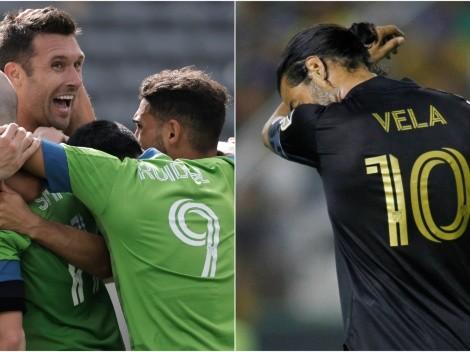 Ni Vela los salvó: LAFC perdió con la contundencia de Sounders