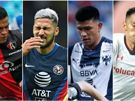 Alineación de vergüenzas de los cuartos de final del Guardianes 2021 de la Liga MX