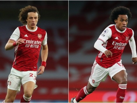 With both set to leave Arsenal, where would David Luiz and Willian land?