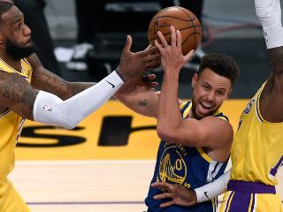 Stephen Curry vs, Los Angeles Lakers