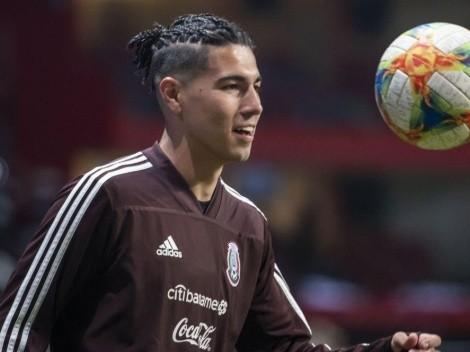 VIDEO: Erick Gutiérrez se prepara para volver a la Selección Mexicana