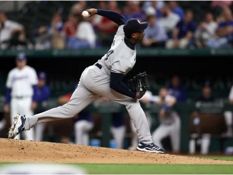 Vídeo: Aroldis Chapman le bajó la persiana al triunfo de Yankees a 103 mph