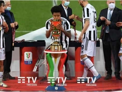 Weston McKennie y la Juventus ¡Campeones de la Coppa Italia!