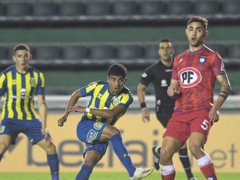 Huachipato sufre goleada ante Rosario Central en la Copa Sudamericana 2021