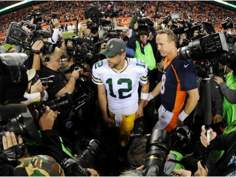 Peyton Manning shares his thoughts on the Aaron Rodgers saga