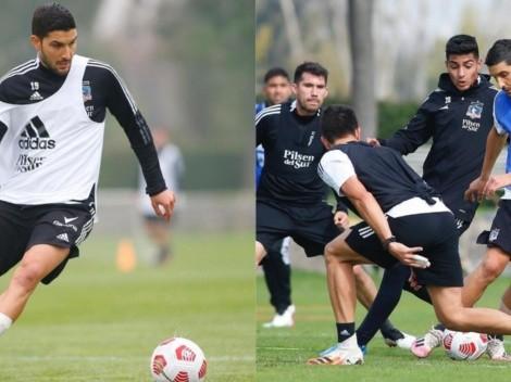 Quiere picar de atrás: Nicolás Blandi en modo full comprometido con Colo Colo