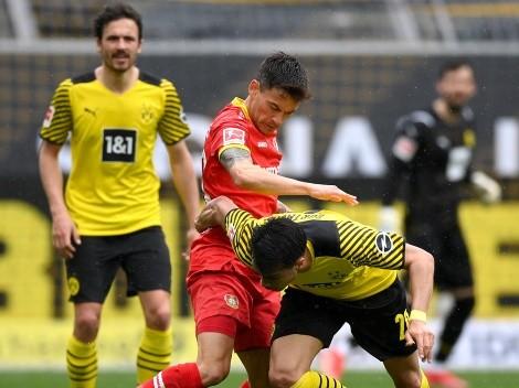 Leverkusen de Aránguiz cae ante  Dortmund que goza de la inspiración de Haaland