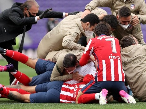Simeone lo logró: ¡Atlético Madrid es el campeón de LaLiga!