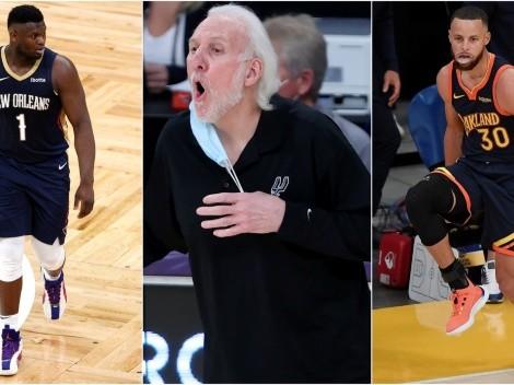 Las grandes ausencias que tendrán los NBA Playoffs 2021