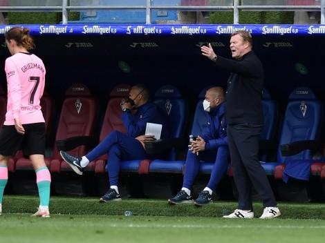 La frase viral de Koeman tras el último partido del Barcelona: durísimo con sus jugadores