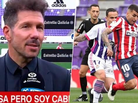 El pedido que Simeone le hizo a Correa y terminó siendo fundamental para el título del Atlético