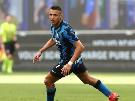 Celebración a lo grande: Alexis participa de la goleada del Inter al Udinese
