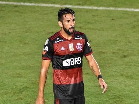Mauricio Isla grita campeón en el Campeonato Carioca con Flamengo