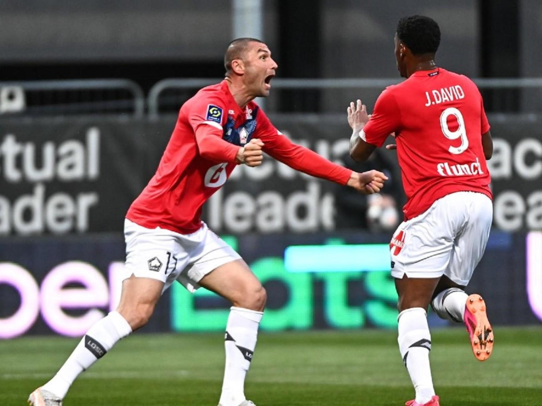 Lille es el nuevo campeón de la Ligue 1 de Francia: venció a Angers y  destronó a PSG, que derrotó a Brest   Bolavip