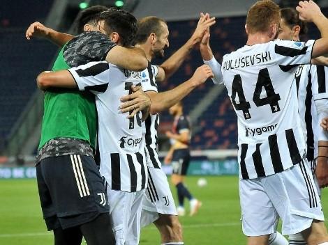 Ganó el derbi: Juventus goleó a Bologna y clasificó a la Champions tras la derrota del Napoli