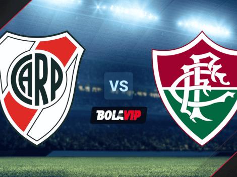 VER EN DIRECTO   River vs. Fluminense por Copa Libertadores: horario, canales de TV y streaming oficial para ver ONLINE