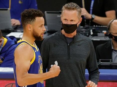 Lo confesó: la no decisión de Steve Kerr que pudo darle a Curry los Playoffs