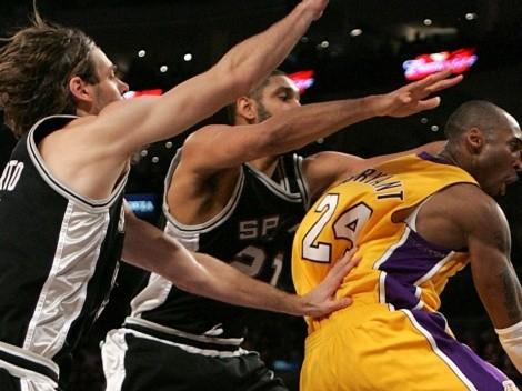 La historia no contada de Kobe: insultó los bloqueos de un jugador latino