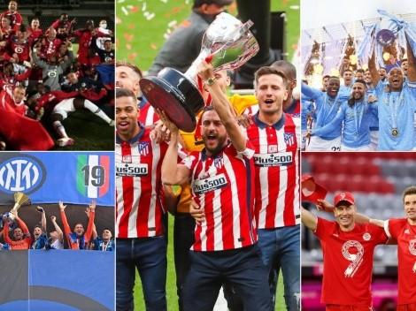 Cambio de dominio en el fútbol europeo