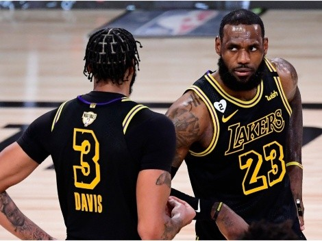 LeBron James calls out Anthony Davis after tough loss to Suns