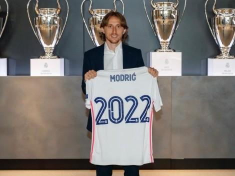 Hay Luka para rato: Modric renovó con el Real Madrid hasta 2022