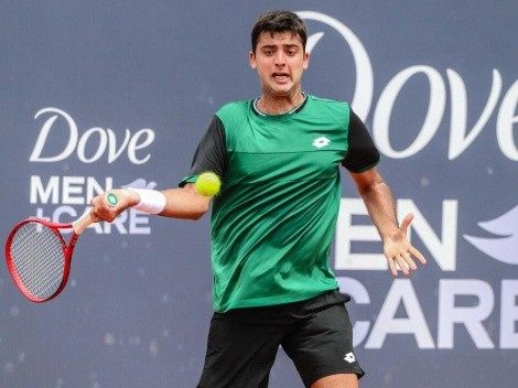 Tomás Barrios avanzó a la segunda ronda de las clasificatorias en Roland Garros